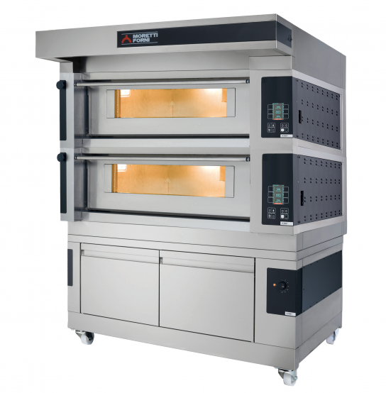 Moretti Forni Comp S100E/2A – Electric Double Deck Oven | Bakery Ovens
