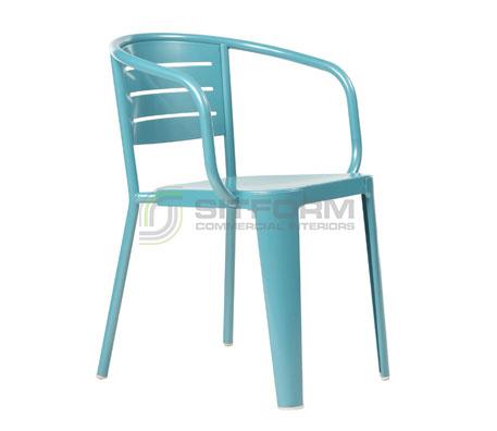 Lexi Arm Chair | Metal Chairs