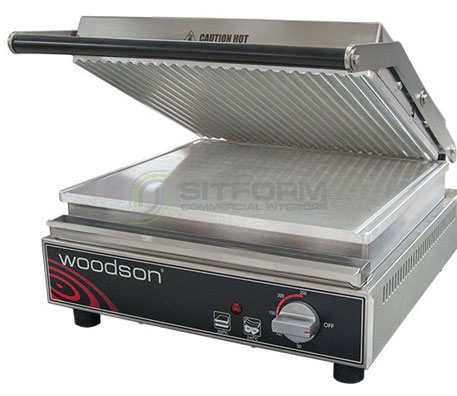 Woodson W.CT6R – Ribbed Contact Grill | Grills & Toasters