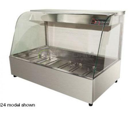 Woodson W.HFC23 – 3 Module Curved Hot Food Display | Hot Food Displays