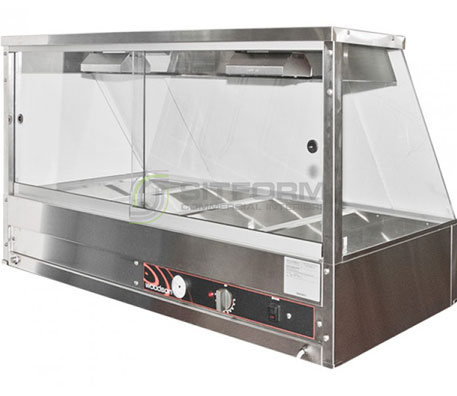 Woodson W.HFS24 – 4 Module Straight Hot Food Display | Hot Food Displays