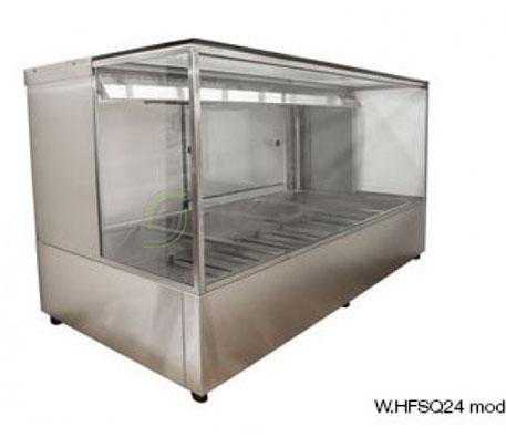 Woodson W.HFSQ24 – 4 Module Square Hot Food Display | Hot Food Displays