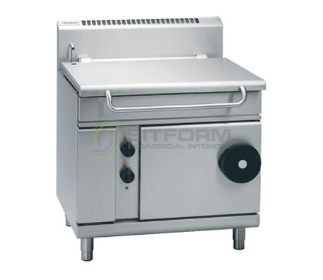 Waldorf 800 Series BP8080E – 900mm Electric Tilting Bratt Pan | Bratt Pans