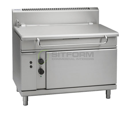 Waldorf 800 Series BP8120GE – 1200mm Gas Tilting Bratt Pan | Bratt Pans