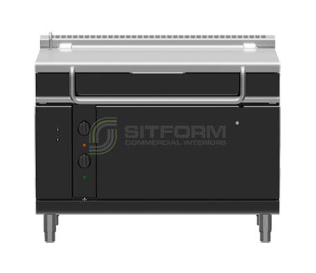 Waldorf Bold BPL8120GE – 1200mm Gas Tilting Bratt Pan Low Back Version | Bratt Pans
