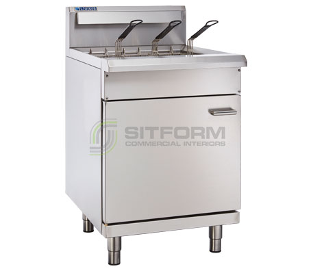 Luus Professional Series FSV-60 – 600mm Split Pan Fryer (2 or 3 basket option) | Commercial Equipment