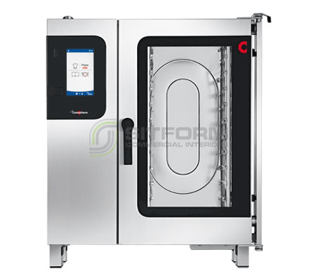 Convotherm C4EBT10.10CD – 11 Tray Electric Combi-Steamer Oven – Boiler System – Disappearing Door | Combi Ovens