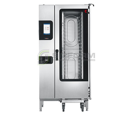 Convotherm C4EBT20.10CD – 20 Tray Electric Combi-Steamer Oven – Boiler System – Disappearing Door | Combi Ovens