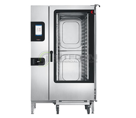 Convotherm C4GBT20.20CD – 40 x 1/1 or 20 x 2/1 GN Tray Gas Combi-Steamer Oven – Boiler System – Disappearing Door | Commercial Combi Oven