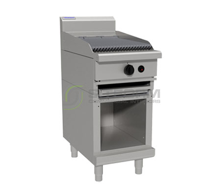 Waldorf 800 Series CHL8450G-CB – 450mm Gas Chargrill Low Back Version – Cabinet Base | Char Grills & Barbecues