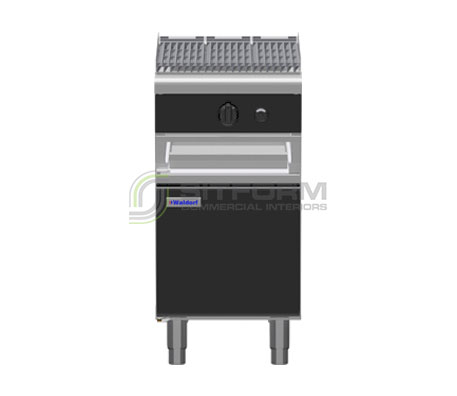 Waldorf Bold CHLB8450G-CD – 450mm Gas Chargrill Low Back Version – Cabinet Base | Char Grills & Barbecues