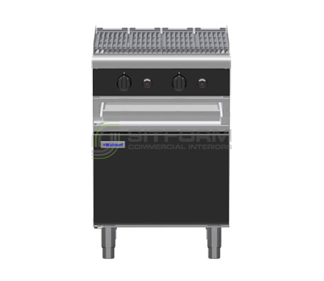 Waldorf Bold CHLB8600G-CD – 600mm Gas Chargrill – Cabinet Base | Char Grills & Barbecues