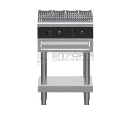 Waldorf Bold CHLB8600G-LS – 600mm Gas Chargrill Low Back Version – Leg Stand | Char Grills & Barbecues