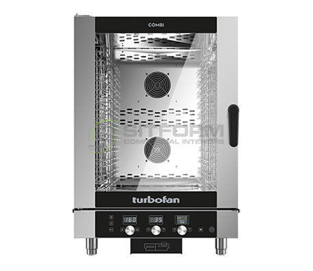 Turbofan EC40M10 – Full Size 10 Tray Manual / Electric Combi Oven | Combi Ovens