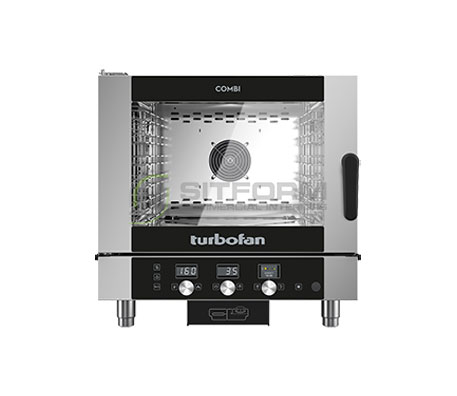 Turbofan EC40D5 – Full Size 5 Tray Digital / Electric Combi Oven | Combi Ovens