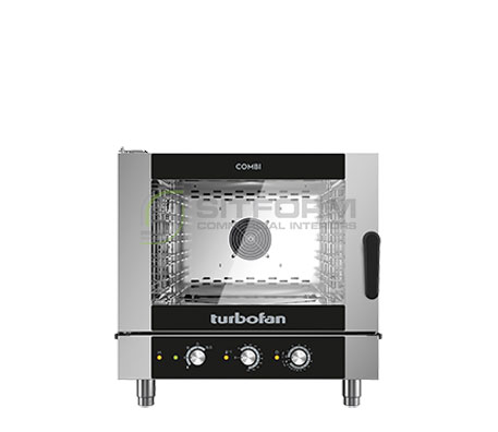 Turbofan EC40M5 – Full Size 5 Tray Manual / Electric Combi Oven | Combi Ovens