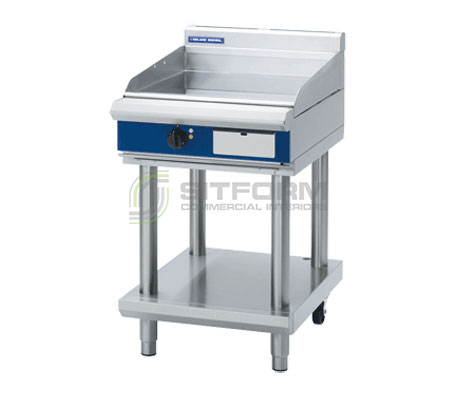 Blue Seal Evolution Series EP514-LS – 600mm Griddle on Leg Stand – Electric | Griddles