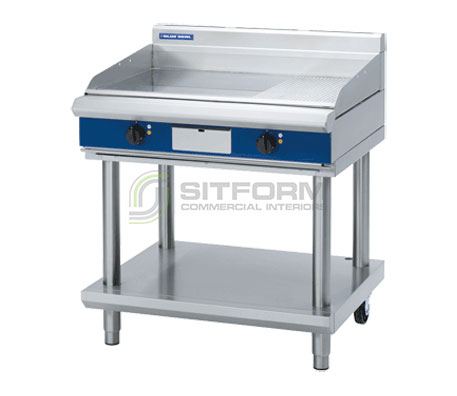 Blue Seal Evolution Series EP516-LS – 900mm Griddle on Leg Stand – Electric | Griddles