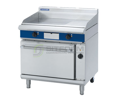 Blue Seal Evolution Series EP56 – 900mm Electric Griddle Convection Oven Range | Ranges