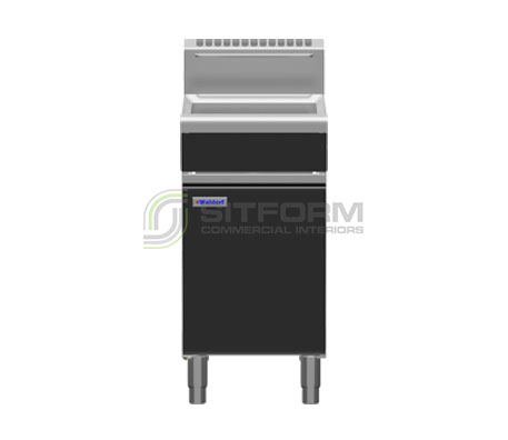 Waldorf Bold FNLB8120G – 450mm Gas Fryer Low Back Version | Fryers