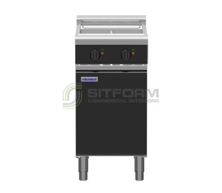 Waldorf Bold FNLB8224E – 450mm Electric Fryer Low Back Version | Fryers