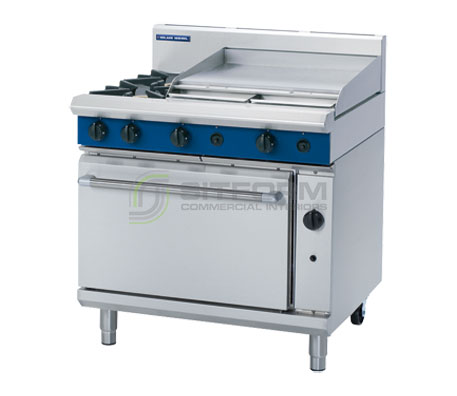 Blue Seal Evolution Series G506B – 900mm Gas Range Static Oven | Ranges