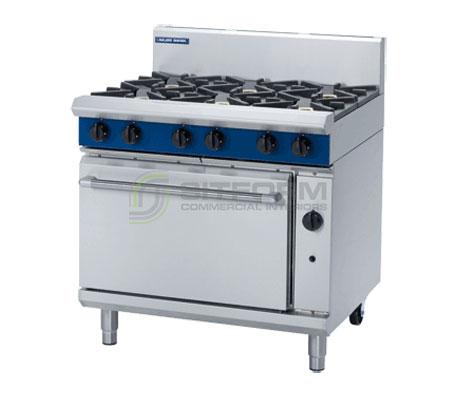 Blue Seal Evolution Series G506D – 900mm Gas Range Static Oven | Ranges