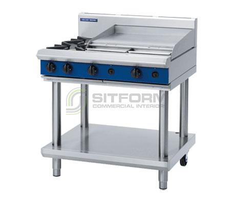 Blue Seal Evolution Series G516B-LS – 900mm Gas Cooktop Leg Stand | Cooktops