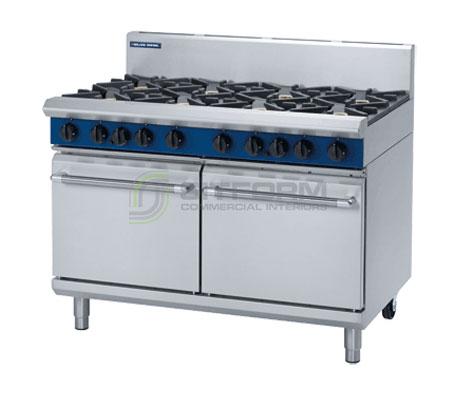 Blue Seal Evolution Series G528D – 1200mm Gas Range Double Static Oven | Ranges