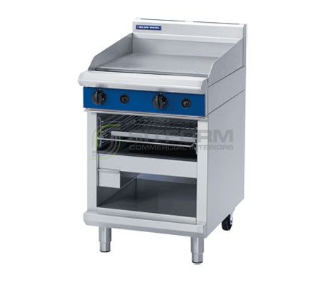 Blue Seal Evolution Series G55T – 600mm Gas Griddle Toaster | Griddle Toasters