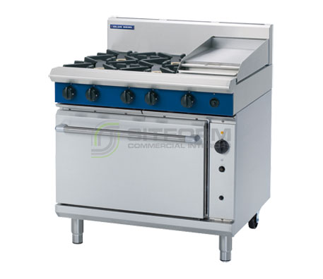 Blue Seal Evolution Series G56C – 900mm Gas Range Convection Oven | Ranges