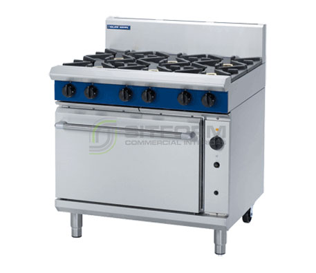 Blue Seal Evolution Series G56D – 900mm Gas Range Convection Oven | Ranges