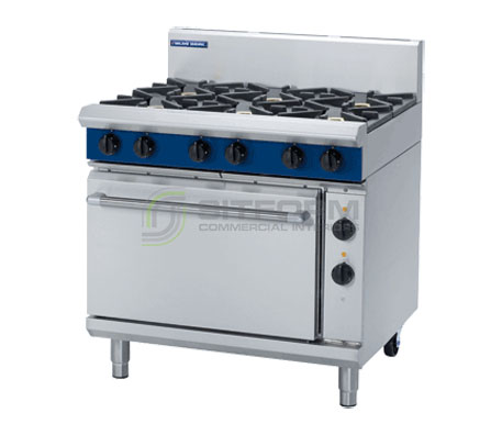 Blue Seal Evolution Series GE506D – 900mm Gas Range Electric Static Oven | Ranges