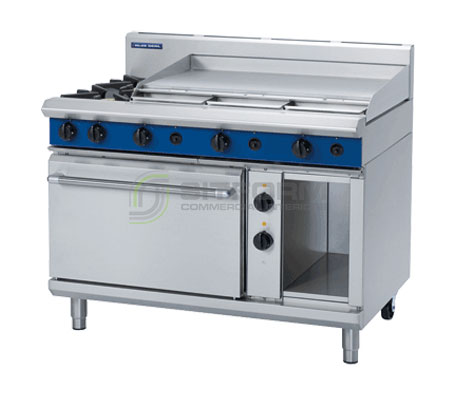 Blue Seal Evolution Series GE508A – 1200mm Gas Range Electric Static Oven | Ranges