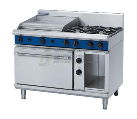 Blue Seal Evolution Series GE508B – 1200mm Gas Range Electric Static Oven | Ranges