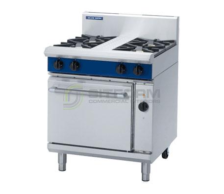 Blue Seal Evolution Series GE54D – 750mm Gas Range Electric Convection Oven | Ranges