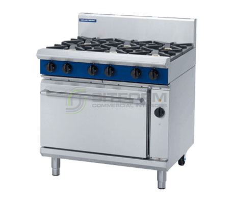 Blue Seal Evolution Series GE56D – 900mm Gas Range Electric Convection Oven | Ranges