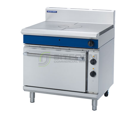 Blue Seal Evolution Series GE570 – 900mm Gas Target Top Electric Static Oven Range | Ranges