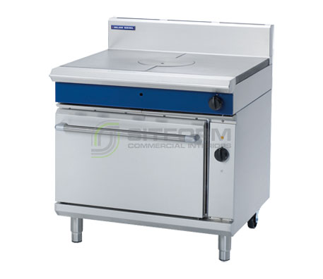 Blue Seal Evolution Series GE576 – 900mm Gas Target Top Electric Convection Oven Range | Ranges
