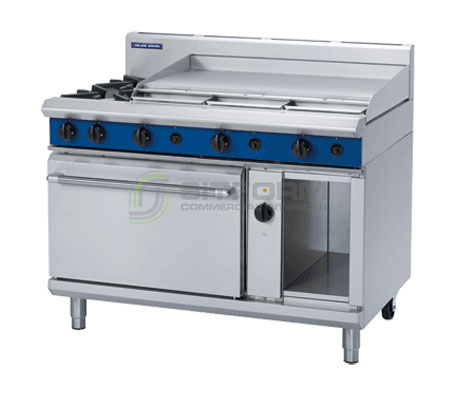 Blue Seal Evolution Series GE58A – 1200mm Gas Range Electric Convection Oven | Ranges
