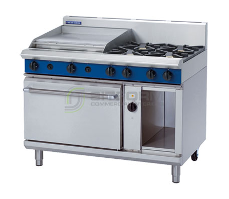 Blue Seal Evolution Series GE58B – 1200mm Gas Range Electric Convection Oven | Ranges