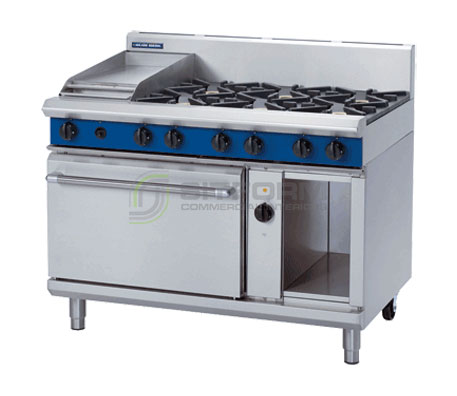 Blue Seal Evolution Series GE58C – 1200mm Gas Range Electric Convection Oven | Ranges