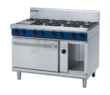 Blue Seal Evolution Series GE58D – 1200mm Gas Range Electric Convection Oven | Ranges