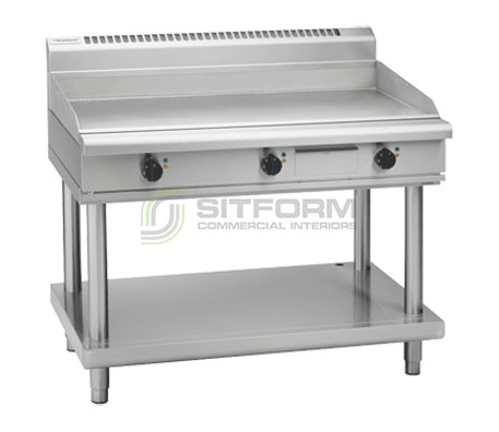 Waldorf 800 Series GP8120E-LS – 1200mm Electric Griddle – Leg Stand | Griddles