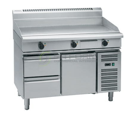 Waldorf 800 Series GP8120E-RB – 120mm Electric Griddle – Refrigerated Base | Griddles
