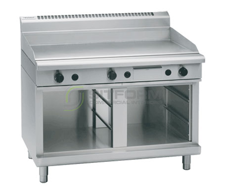Waldorf 800 Series GP8120G-CB – 1200mm Gas Griddle Cabinet Base | Griddles