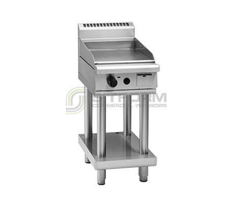 Waldorf 800 Series GP8450G-LS – 450mm Gas Griddle – Leg Stand | Griddles