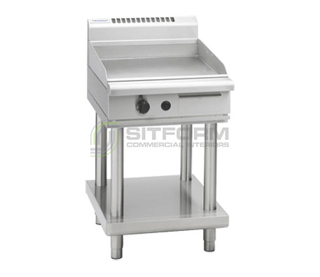 Waldorf 800 Series GP8600G-LS – 600mm Gas Griddle Leg Stand | Griddles