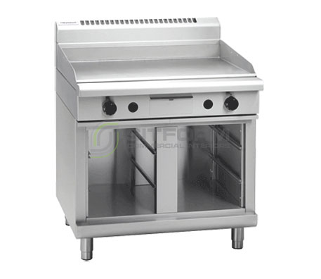Waldorf 800 Series GP8900G-CB – 900mm Gas Griddle Cabinet Base | Griddles