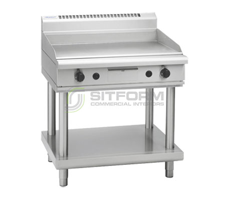 Waldorf 800 Series GP8900G-LS – 900mm Gas Griddle Leg Stand | Griddles